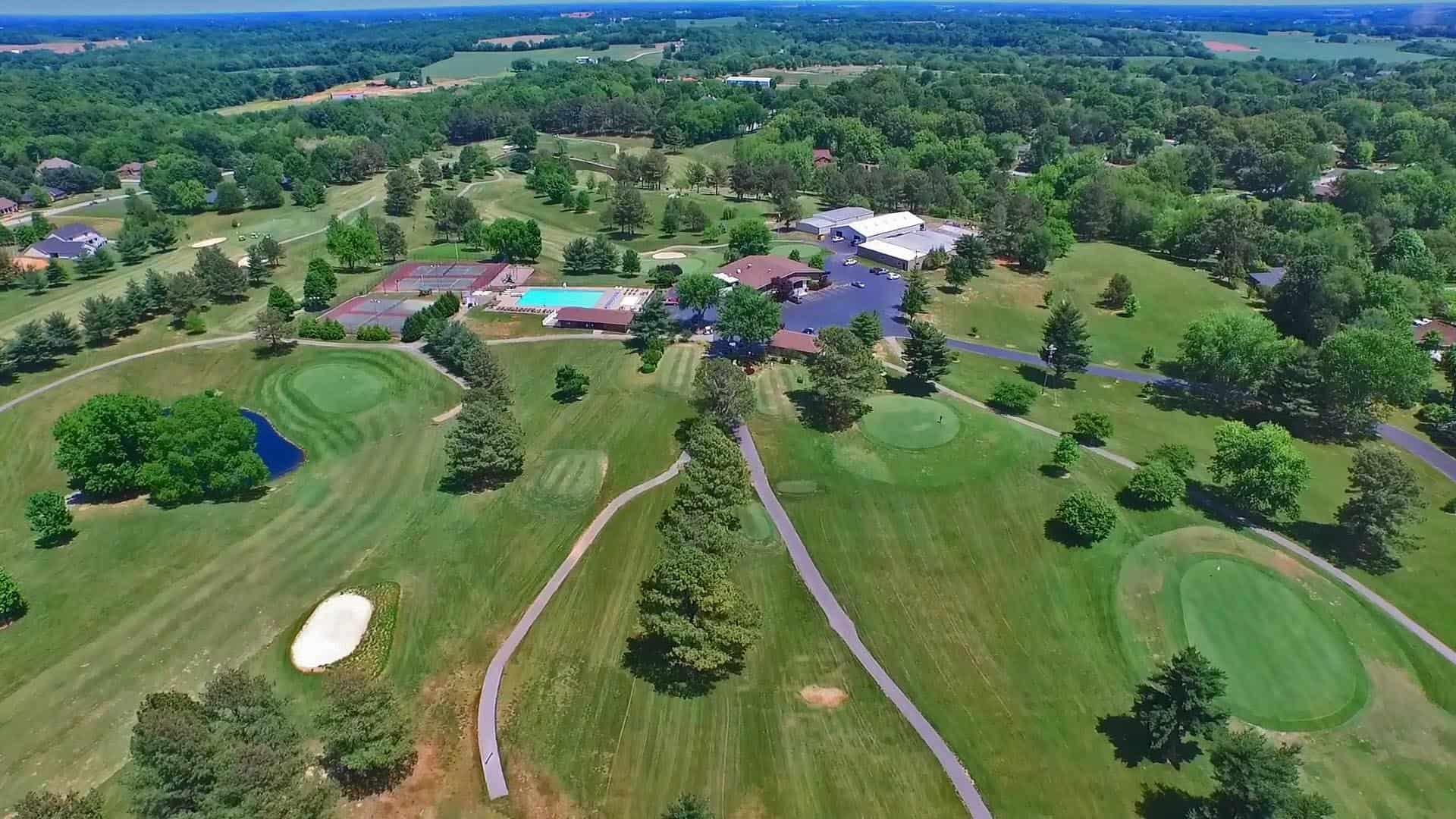 Golf Resort Aerial Photograhy & Video Drone Marketing